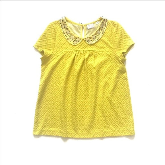 000d416f3a29a5 Anthropologie Tops - Postmark Anthropologie Cassandra embroidered top